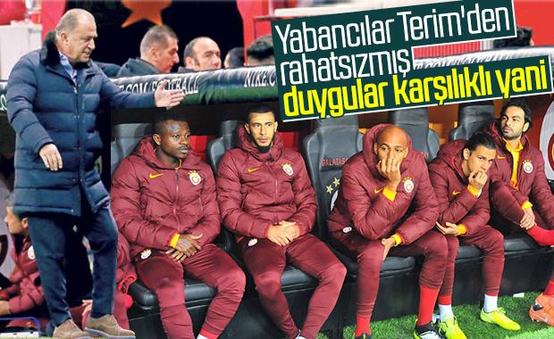 Yabancı futbolcular, Fatih Terim'le anlaşamıyor