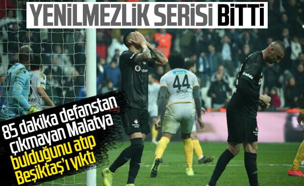 Beşiktaş son dakikalarda kaybetti