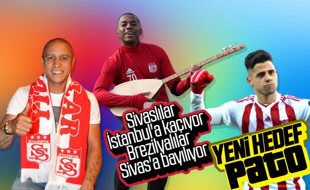 Sivasspor'da hedef Alexandre Pato