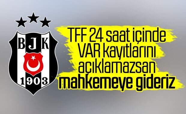 Beşiktaş'tan TFF'ye ek süre