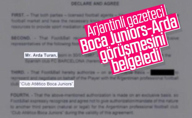Boca Juniors Arda Turan'la görüşüyor
