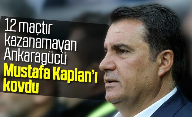 Ankaragücü'nde Mustafa Kaplan dönemi bitti