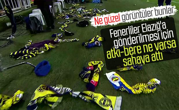 Fenerbahçeli taraftarlardan Elazığ'a destek