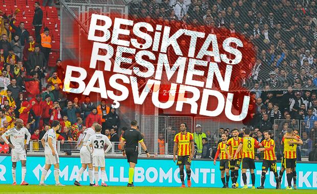 Beşiktaş TFF'ye resmen başvurdu