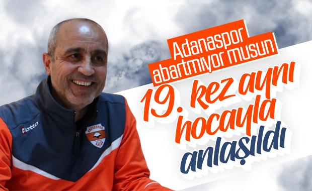 Adanaspor, bir kez daha Eyüp Arın'la anlaştı