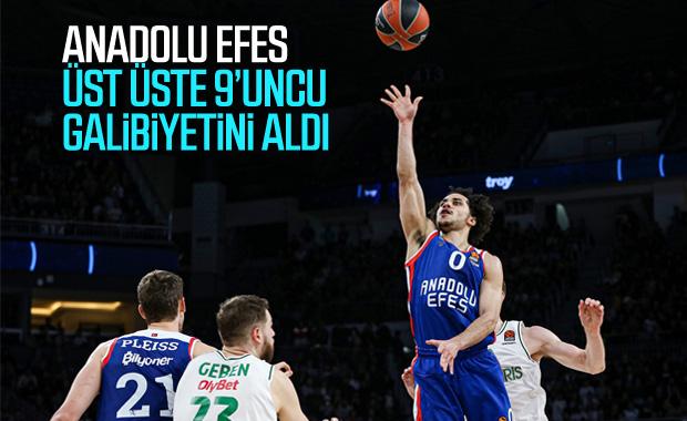 Anadolu Efes, Litvanya ekibi Zalgiris mağlup etti