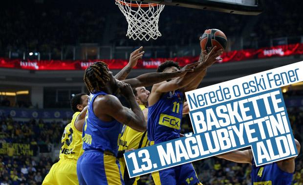 Fenerbahçe, Maccabi'ye son 2 saniyede yenildi