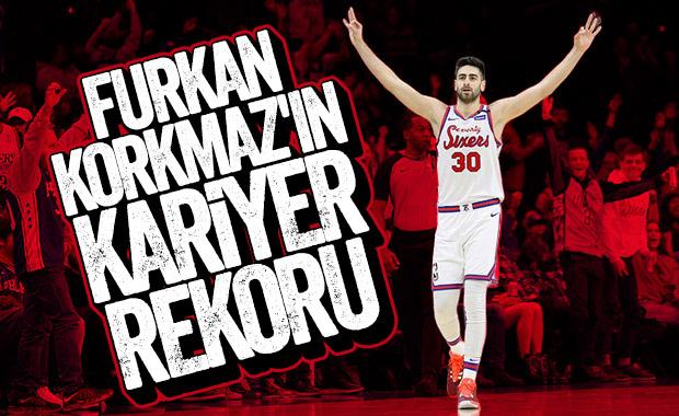 Furkan Korkmaz 34 sayı attı