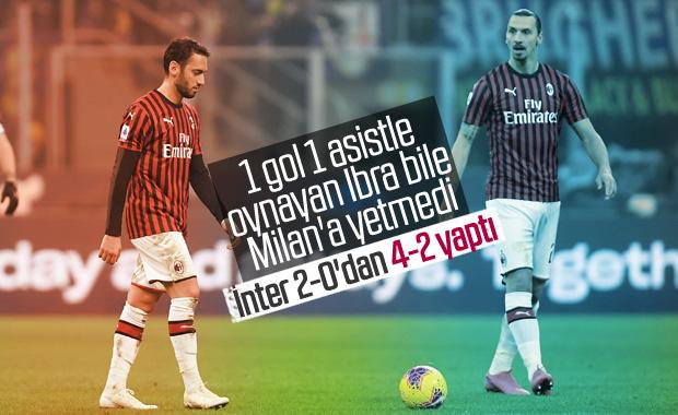 Inter-Milan maçı nefesleri kesti