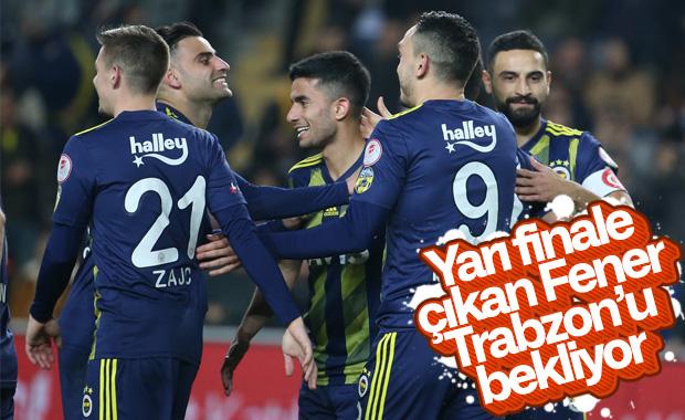 Fenerbahçe, Ziraat Kupası'nda yarı finale çıktı