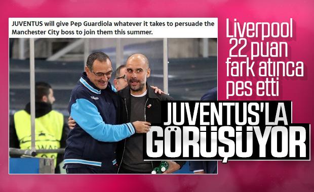 Guardiola, Juventus'la görüşüyor