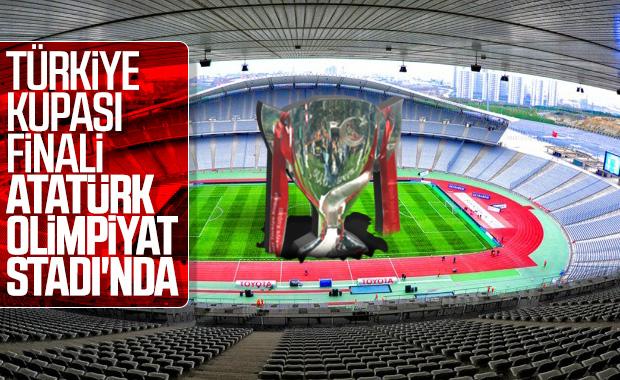 Türkiye Kupası finalinin oynanacağı stat belli oldu