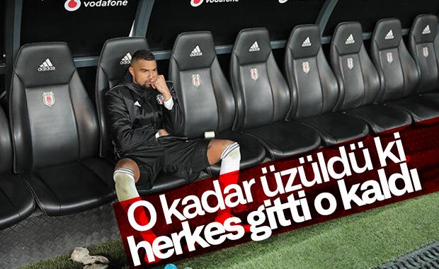 Beşiktaş'ta maç sonunda Boateng'den ilginç görüntü