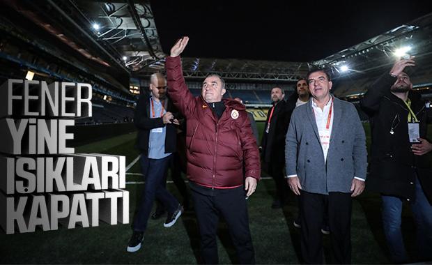 Fenerbahçe yine stat ışıklarını kapattı