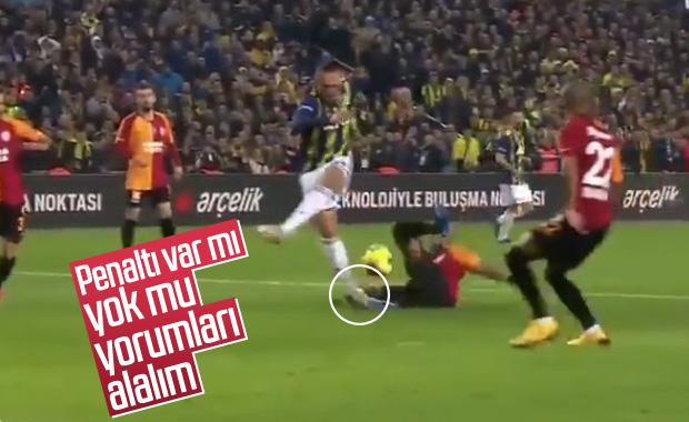 Galatasaraylı taraftarların penaltı isyanı