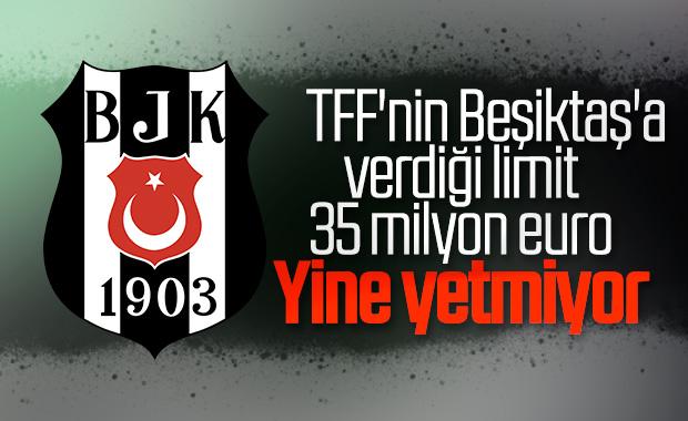 Beşiktaş'ın gelecek sezonki harcama limiti belirlendi