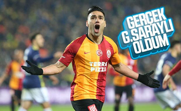 Falcao: Derbide Fenerbahçe'ye gol atmak çok önemli