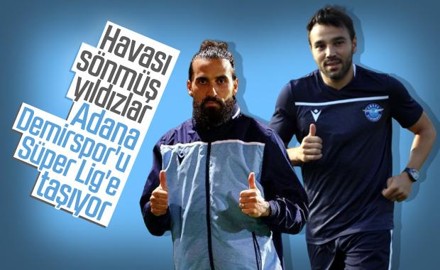 Volkan ile Erkan Adana Demirspor'u taşıyor
