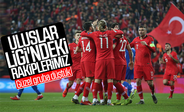 Türkiye'nin Uluslar Ligi'ndeki rakipleri