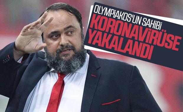 Olympiakos'un sahibi, koronavirüs kaptığını duyurdu