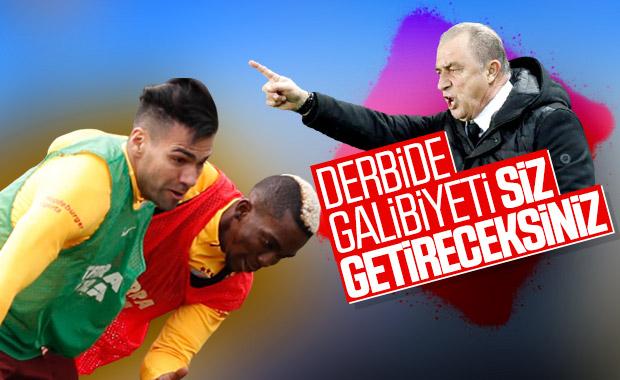 Galatasaray'da derbinin planı hazır