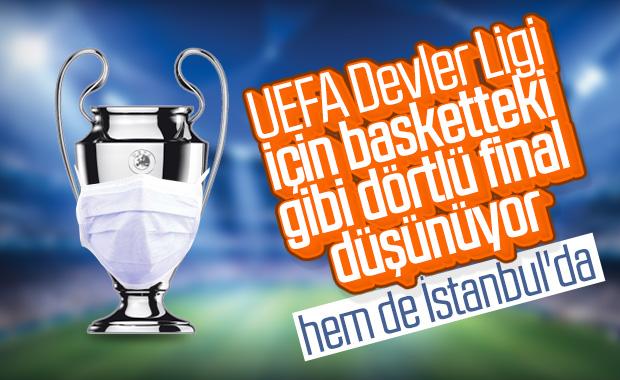 UEFA'nın Şampiyonlar Ligi planı