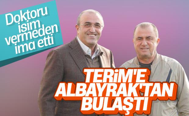 Fatih Terim'in doktoru Albayrak'ı işaret etti