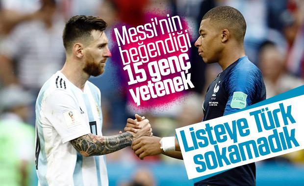 Messi, en çok beğendiği genç oyuncuları açıkladı
