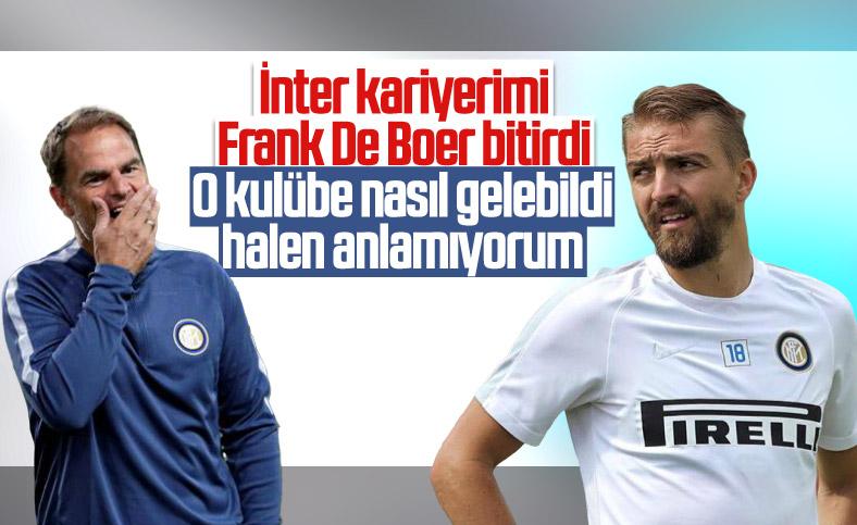 Caner Erkin: İnter kariyerimi Frank de Boer bitirdi