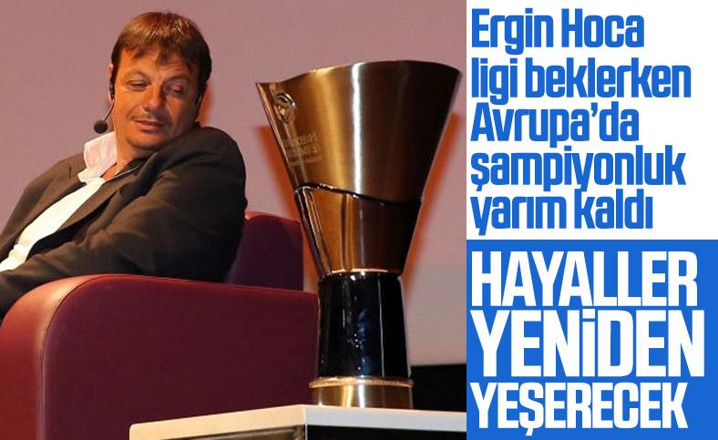 Ergin Ataman: Avrupa'da şampiyonluk hayalimiz sürecek