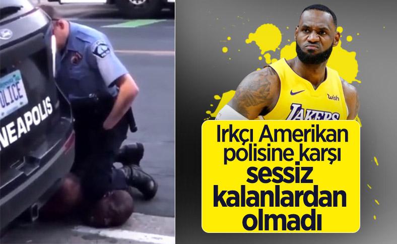 LeBron James'ten polis şiddetine tepki