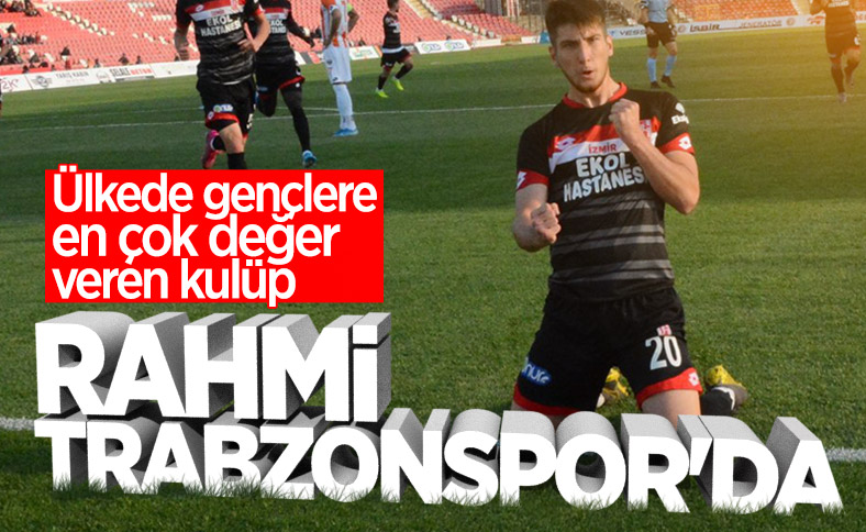 Rahmi Anıl resmen Trabzonspor'da