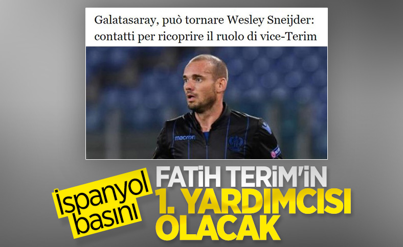 Sneijder, Galatasaray'a geri dönüyor
