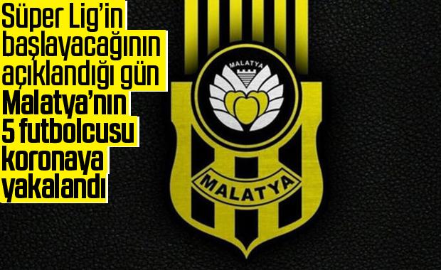 Yeni Malatyaspor'da 6 kişinin testi pozitif çıktı