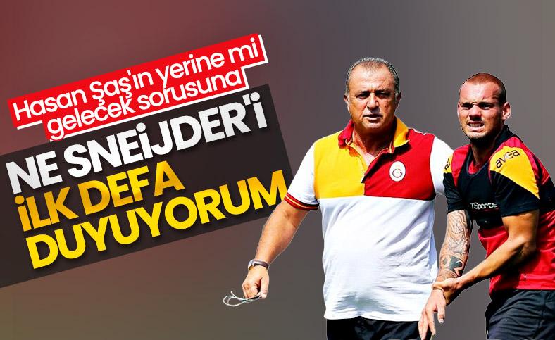 Fatih Terim, Sneijder iddialarını yalanladı