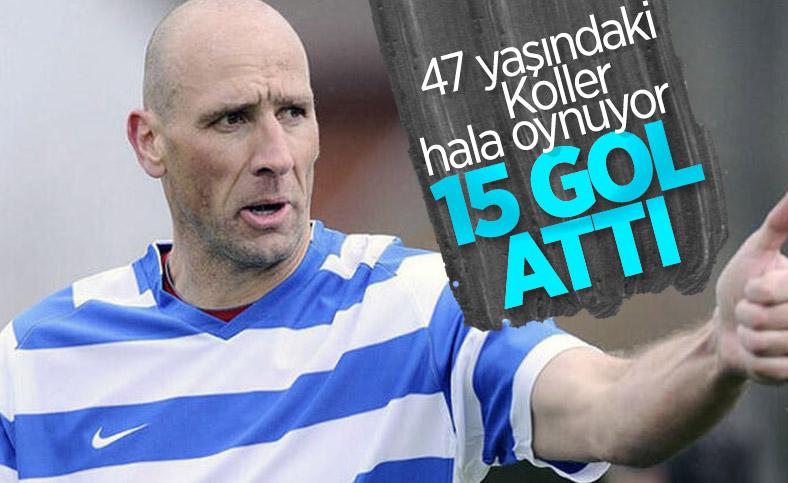 47 yaşındaki Jan Koller 15 gol attı