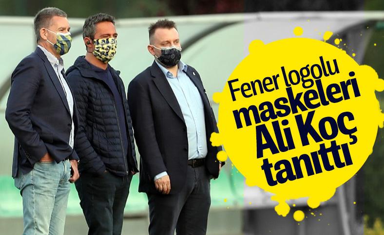 Ali Koç, F.Bahçe logolu maske taktı