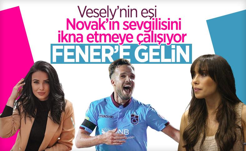 Filip Novak'ı Jan Vesely'nin eşi ikna ediyor