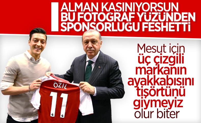Adidas, Mesut Özil ile yollarını ayırma kararı aldı