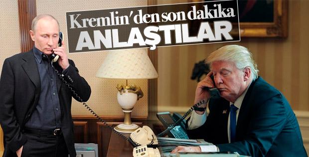 Trump-Putin görüşmesinin ayrıntıları