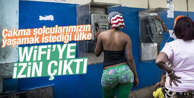 Küba geneline WiFi bağlantı noktaları kurulacak