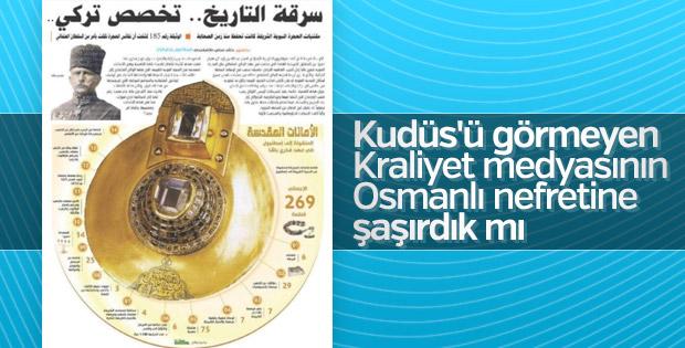 Suudi Arabistan'da Osmanlı aleyhinde yayınlar başladı