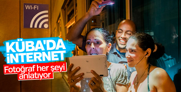 Küba'da internet devrimi