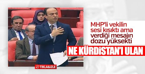 MHP'den Osman Baydemir'e: Ne Kürdistan'ı ulan