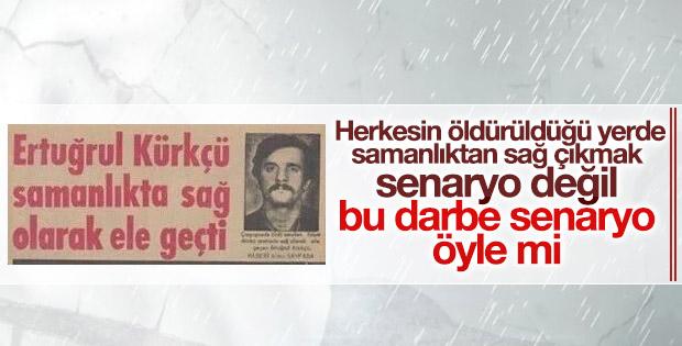 Ertuğrul Kürkçü'ye göre darbe girişimi tiyatro