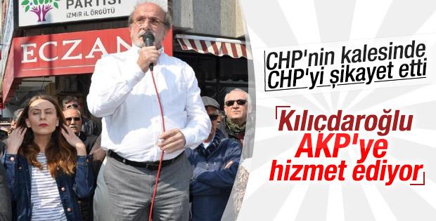 Ertuğrul Kürkçü: CHP AK Parti'ye hizmet ediyor