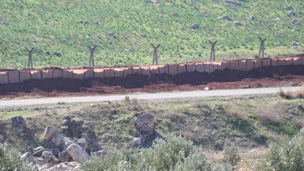 Suriye sınırına kurşun geçirmez duvar önlemi