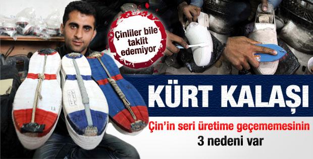 Çinlilerin taklit edemediği Kürt ayakkabısı
