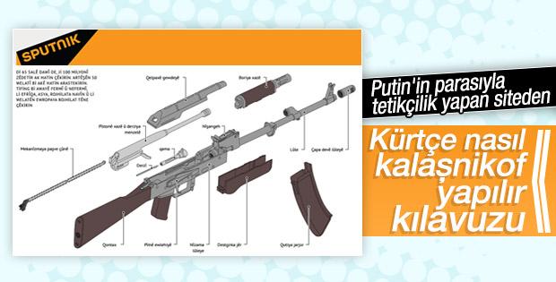 Sputnik Kürtçe kalaşnikof kılavuzu hazırladı