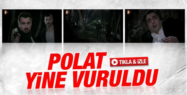 Kurtlar Vadisi'nin son bölümünde Cahit Polat'ı vurdu - izle